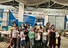 Students from the  ICU visited Saturn's factory in Kaniv